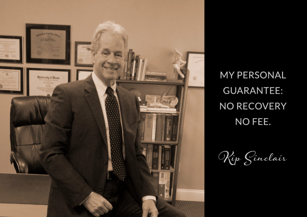 KIP SINCLAIR Medical Malpractice Nursing Home Injury Attorney